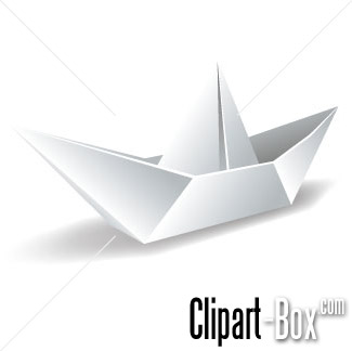 CLIPART PAPER BOAT.