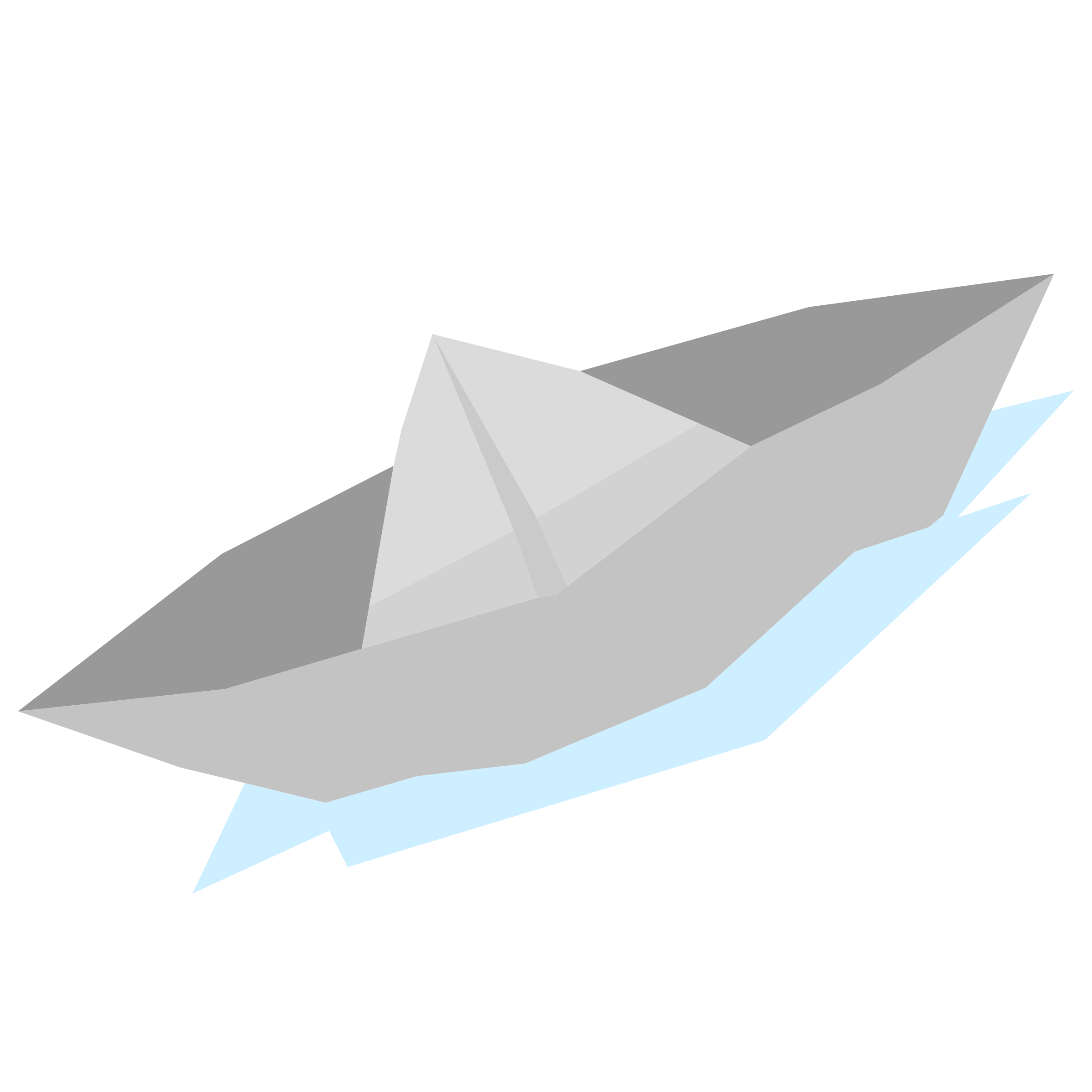 Paper Boat Vector Clipart.