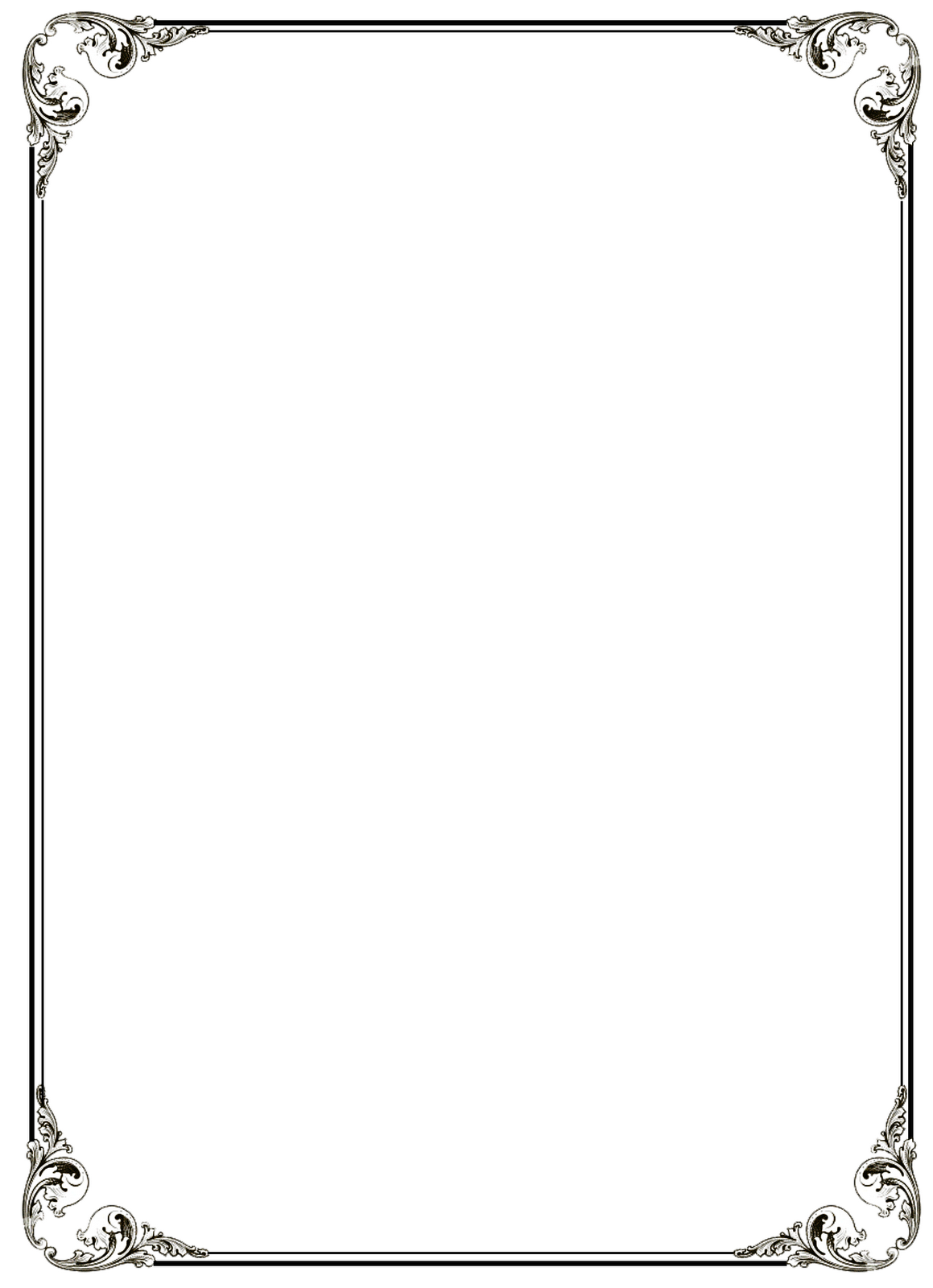 Free PNG Frames And Page Borders Transparent Frames And Page.