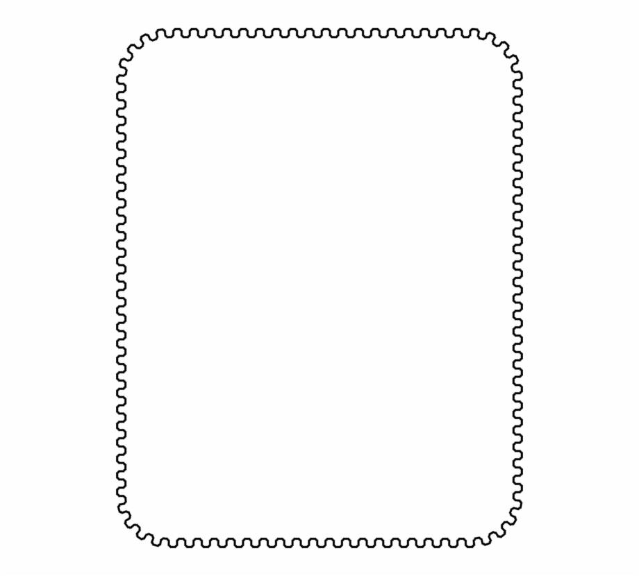 Art Common Paper Sizes Decorative Borders Standard.