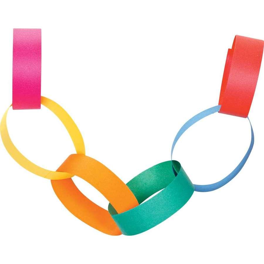 Download paper chain clipart Paper Clip art.