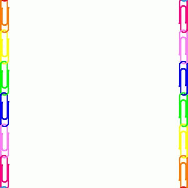 Paper Clip Border Clipart for Paper Clip Border.