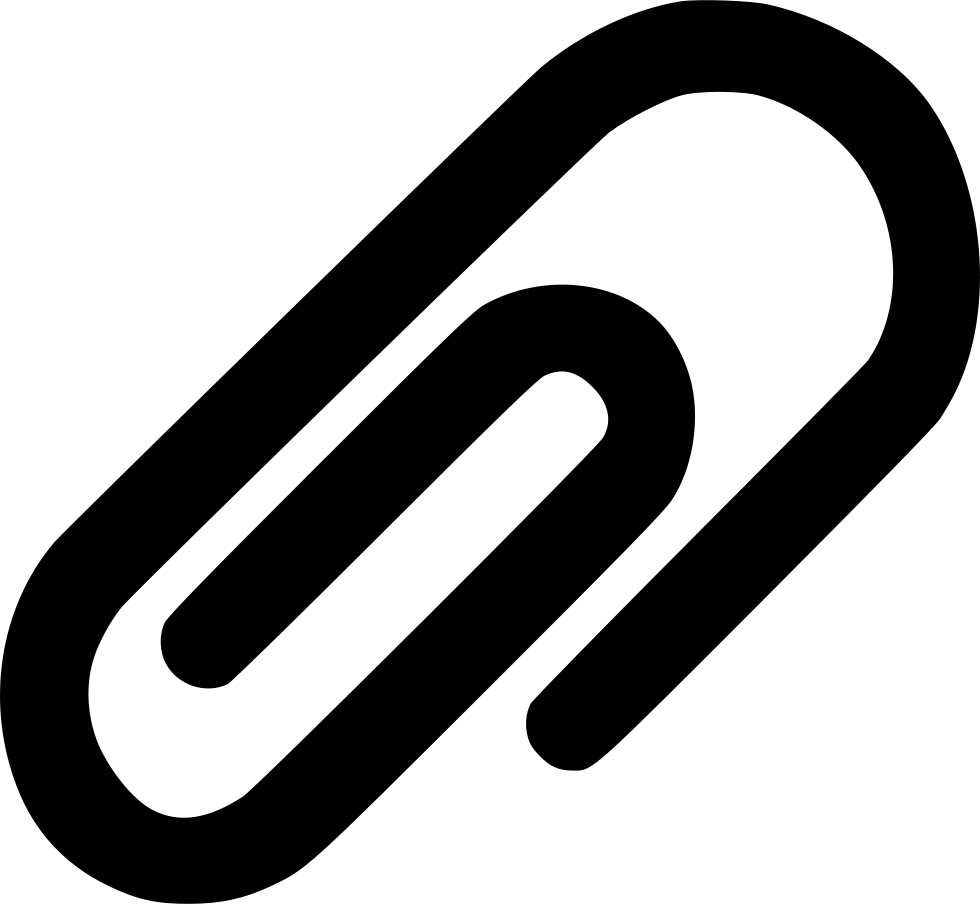 Paperclip Attachment Paper Clip Svg Png Icon Free Download.