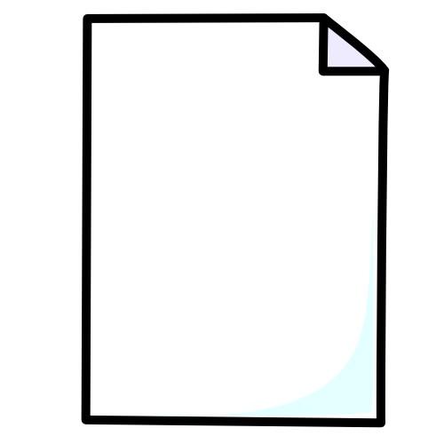 64 Free Paper Clip Art.