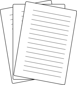 Paper Clipart.