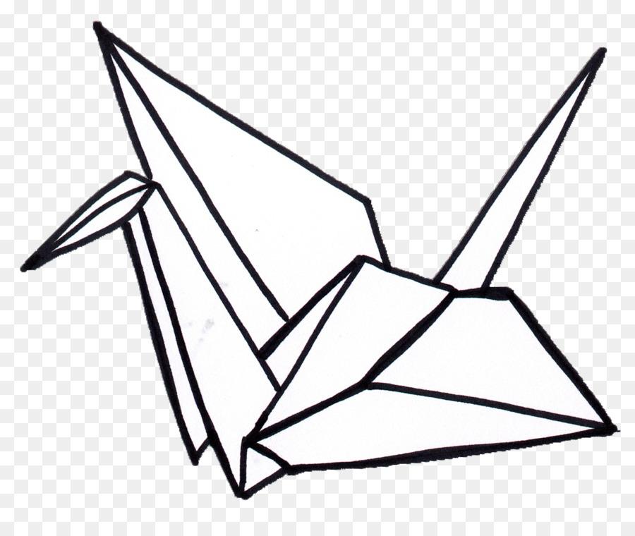 Origami Crane clipart.