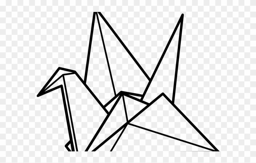 Drawn Origami Origami Bird.