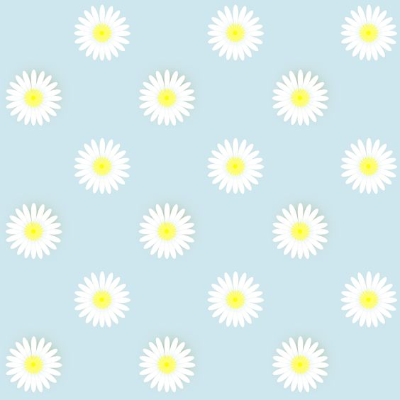 FREE printable daisy flower scrapbooking paper (.