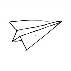 Paper Airplane Drawing Tumblr.