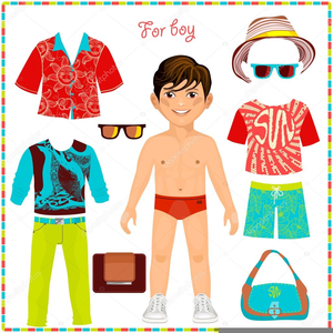 Free Clipart Images Of Paper Dolls.
