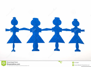 Free Paper Dolls Clipart.