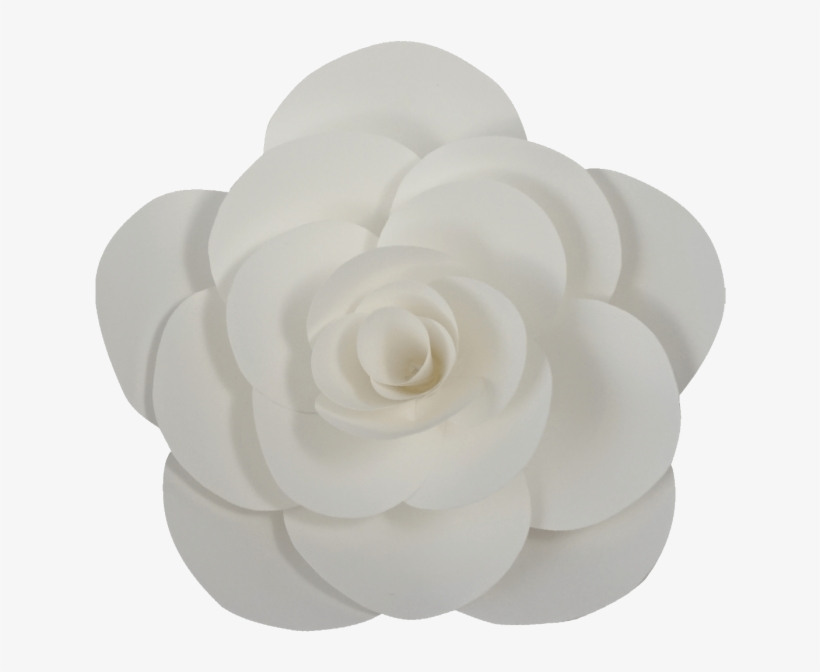 White Paper Flower Png.