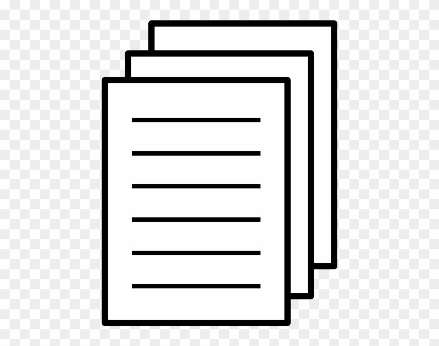 Paper 4 Icon Clip Art Download.
