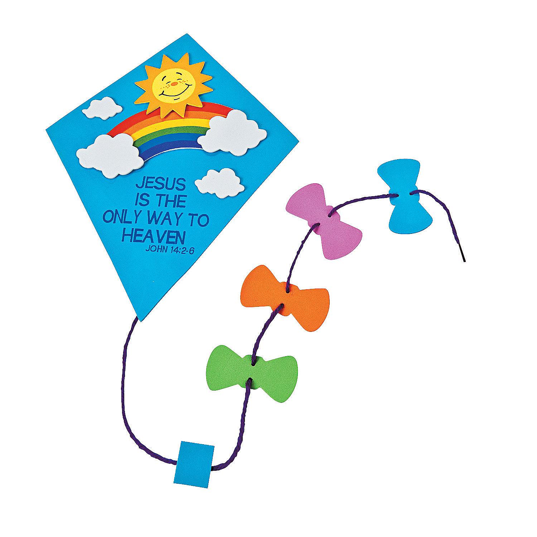 Paper Kite Craft.