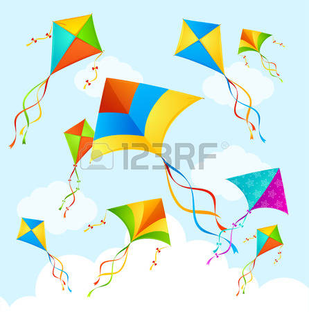 1,483 Paper Kite Stock Vector Illustration And Royalty Free Paper.