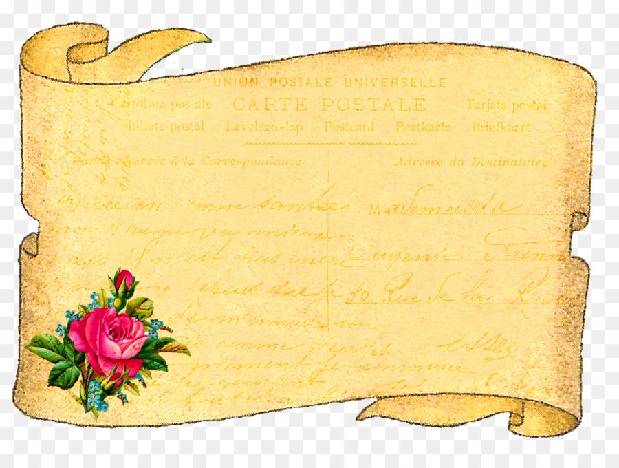 Flower Border Background clipart.