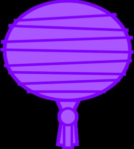 Purple Paper Lantern Clip Art at Clker.com.