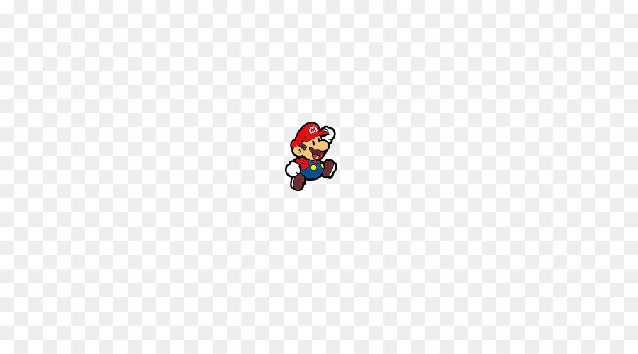 Super Paper Mario Logo Red Font.