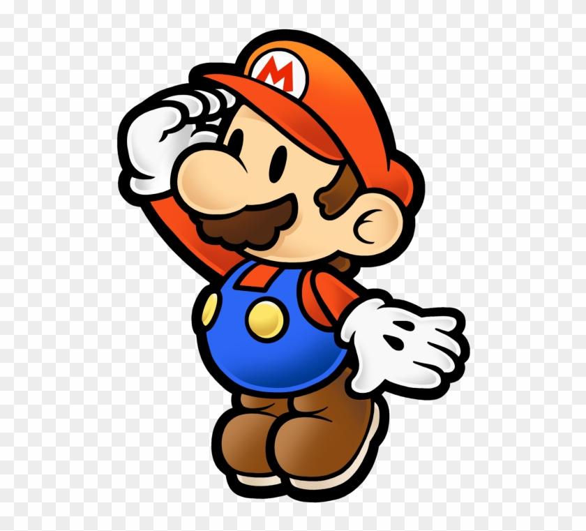Paper Mario Curious.