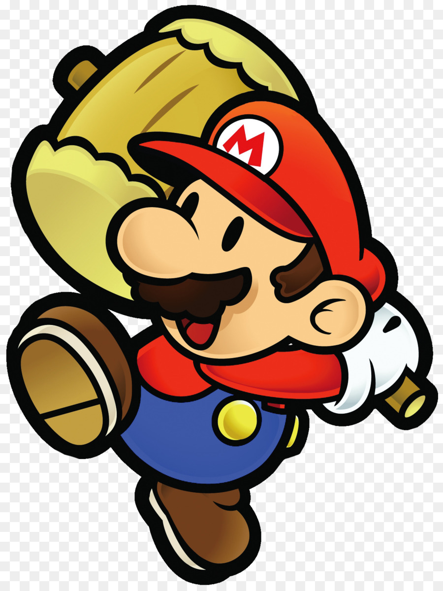 Paper Mario Yellow png download.
