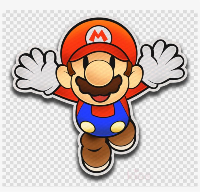 Paper Mario Color Splash Mario Clipart Paper Mario.