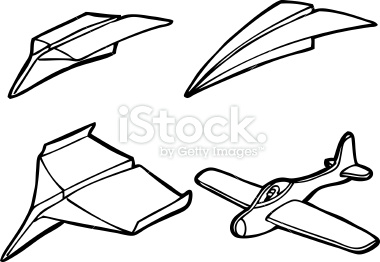 Model Airplane Clipart.