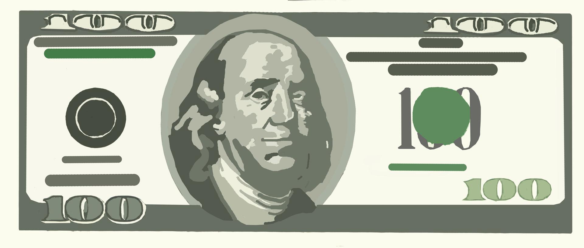 Paper Money Clip Art Free Stock Photo.