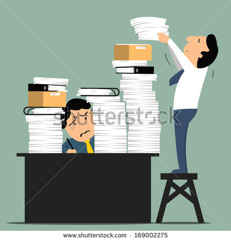 Paper Files Stock Images, Royalty.