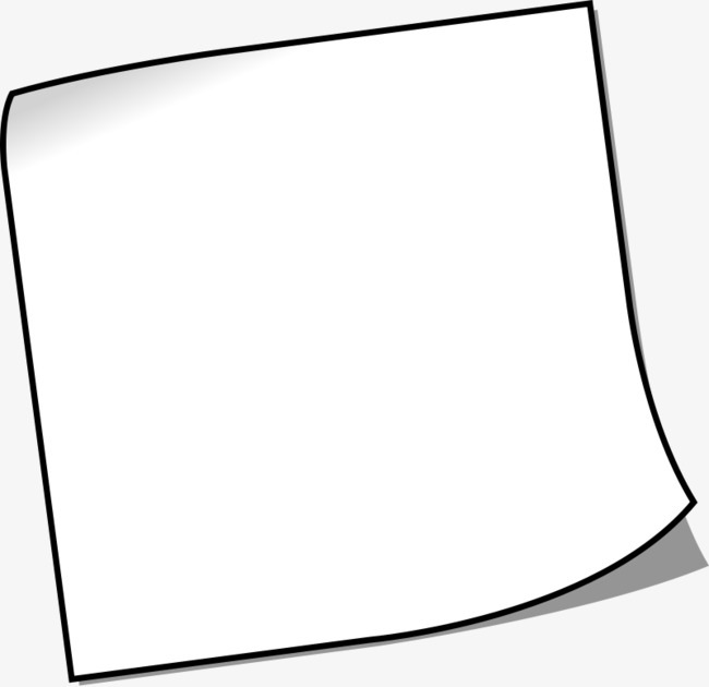 Piece of paper clipart 3 » Clipart Station.