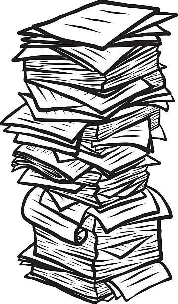 Paper pile clipart 4 » Clipart Portal.