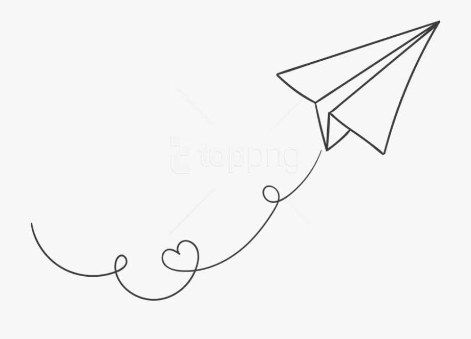Free Png Download White Paper Plane Clipart Png Photo.