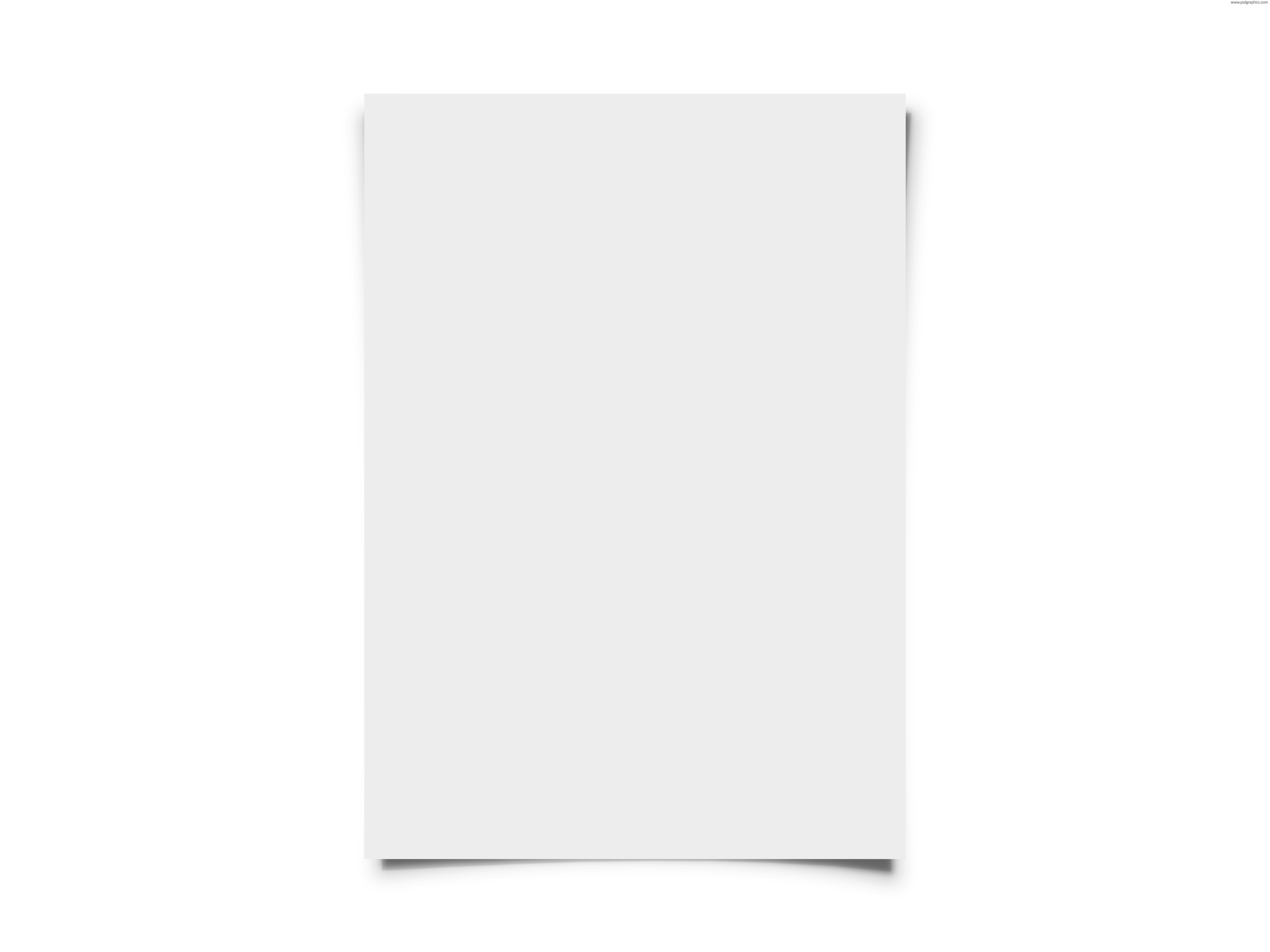 Blank white paper.