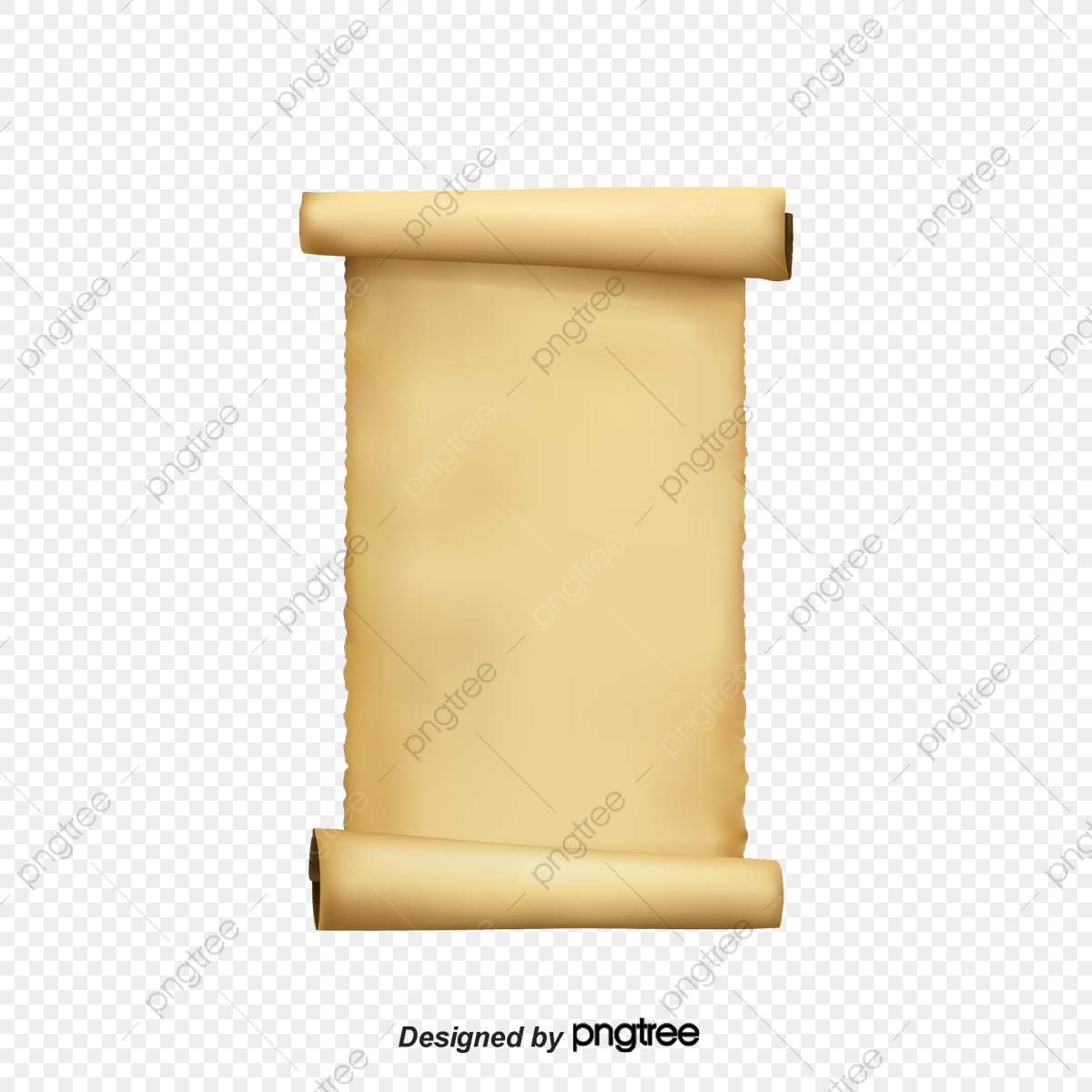 Paper Roll Decoration, Paper Roll, Paper, Old Paper PNG.