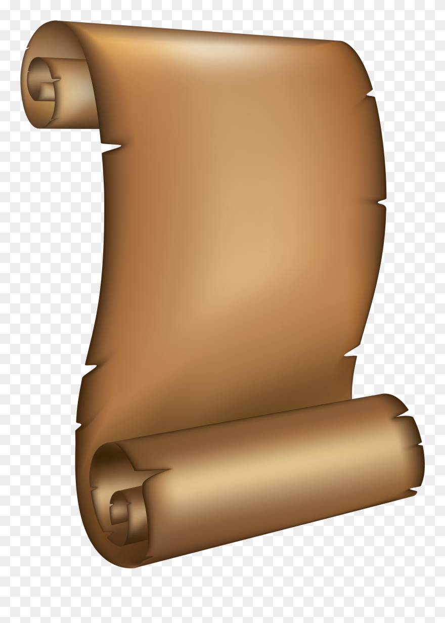 Old Roll Paper Png Clipart (#237675).