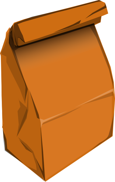 Brown Paper Bag Clip Art.