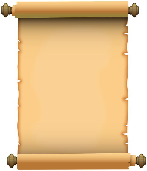 Scroll Paper PNG Image.