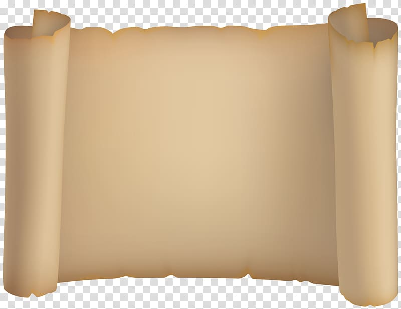 Beige scroll illustration, Paper Scroll , Scroll transparent.