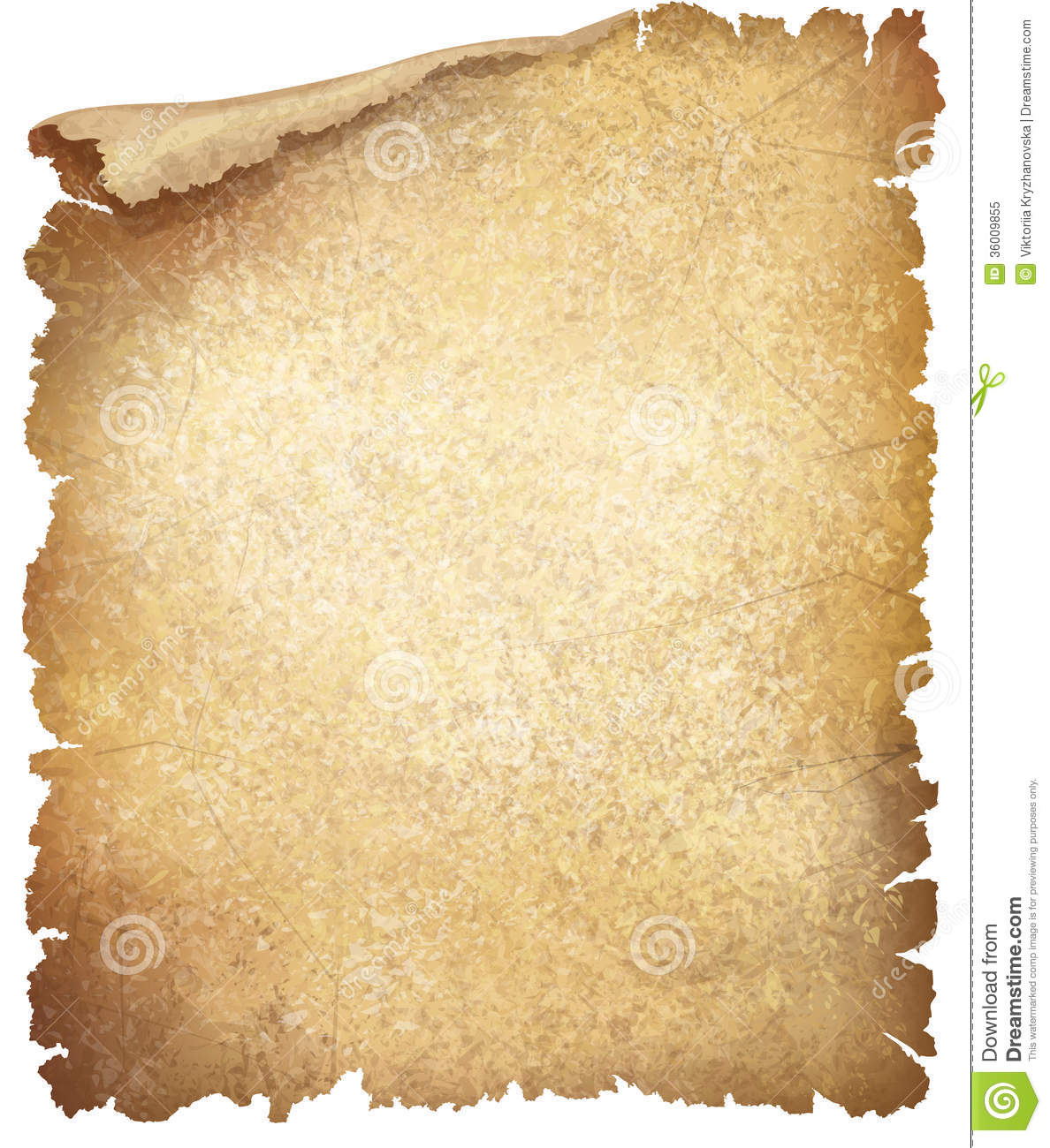Vector Old Paper Texture. Royalty Free Stock Photo.
