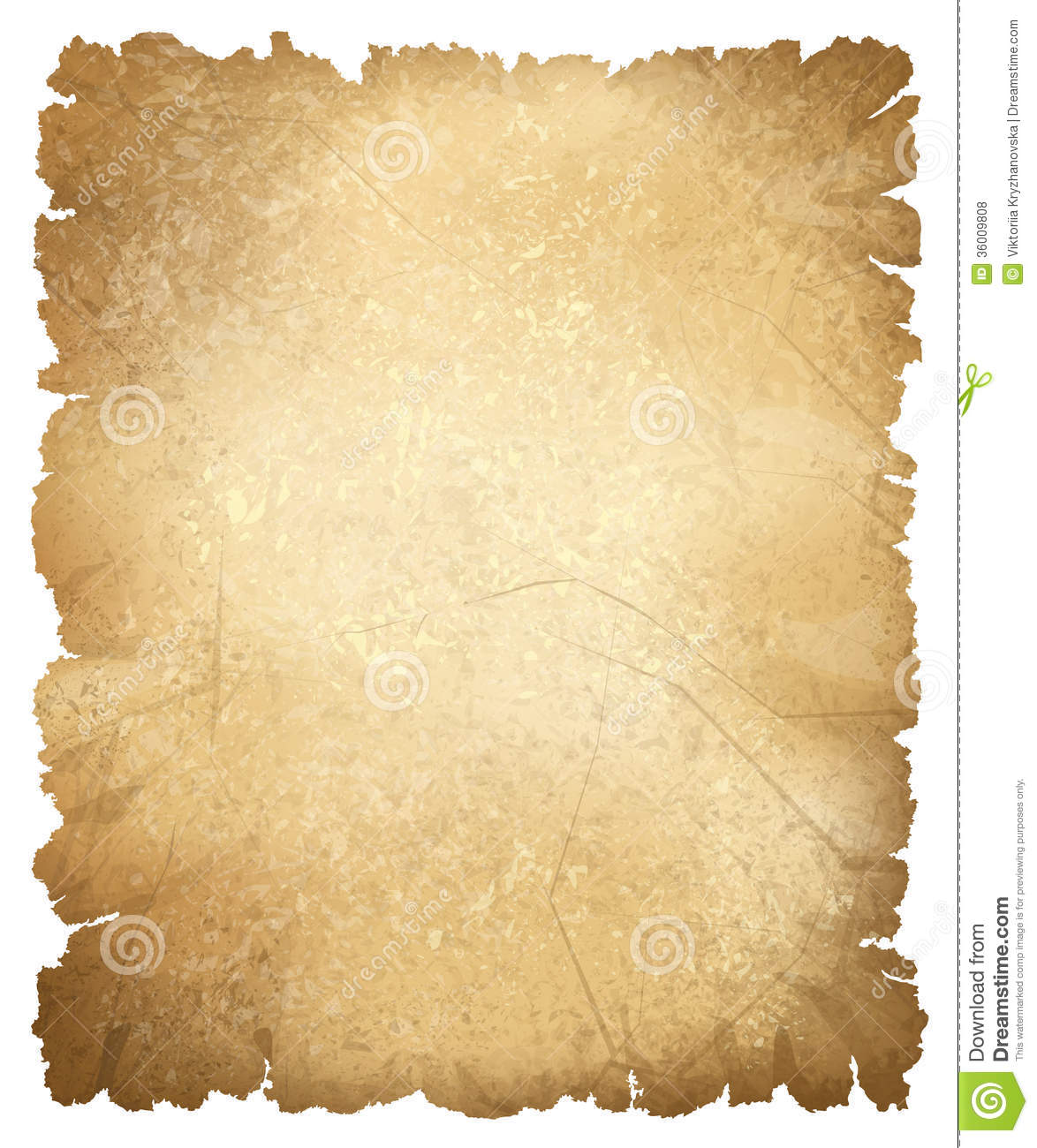 Vector Old Paper Texture. Royalty Free Stock Photos.