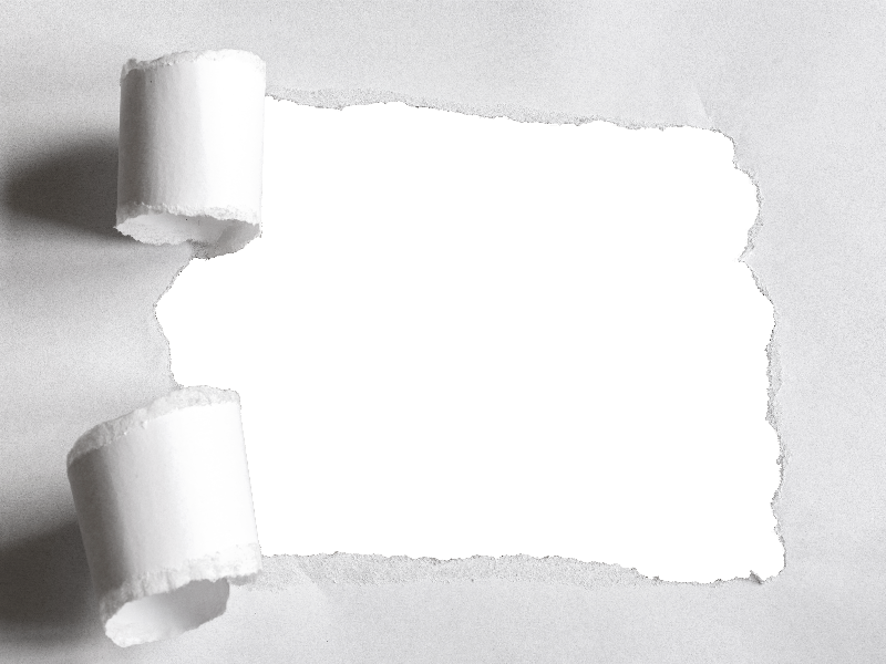 Torn Paper Hole PNG (Paper).