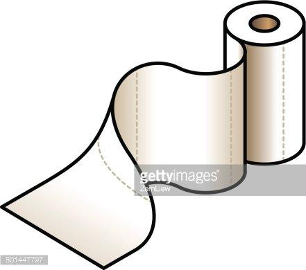Paper Towel premium clipart.