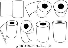Paper Towels Clip Art.