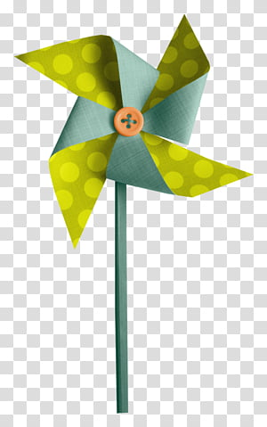 Paper Windmill transparent background PNG cliparts free.