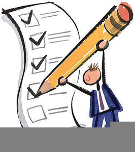 Submit Paperwork Clipart.