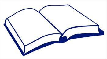 Paperback Book Clip Art.
