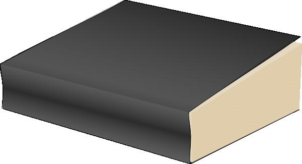 Paperback Book, Black Clip Art at Clker.com.