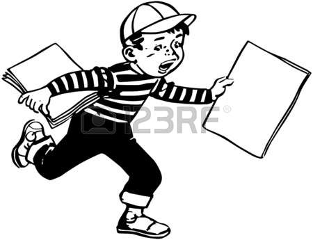 19,688 Paper Boy Stock Vector Illustration And Royalty Free Paper.