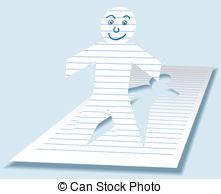 Paperman Vector Clip Art EPS Images. 13 Paperman clipart vector.