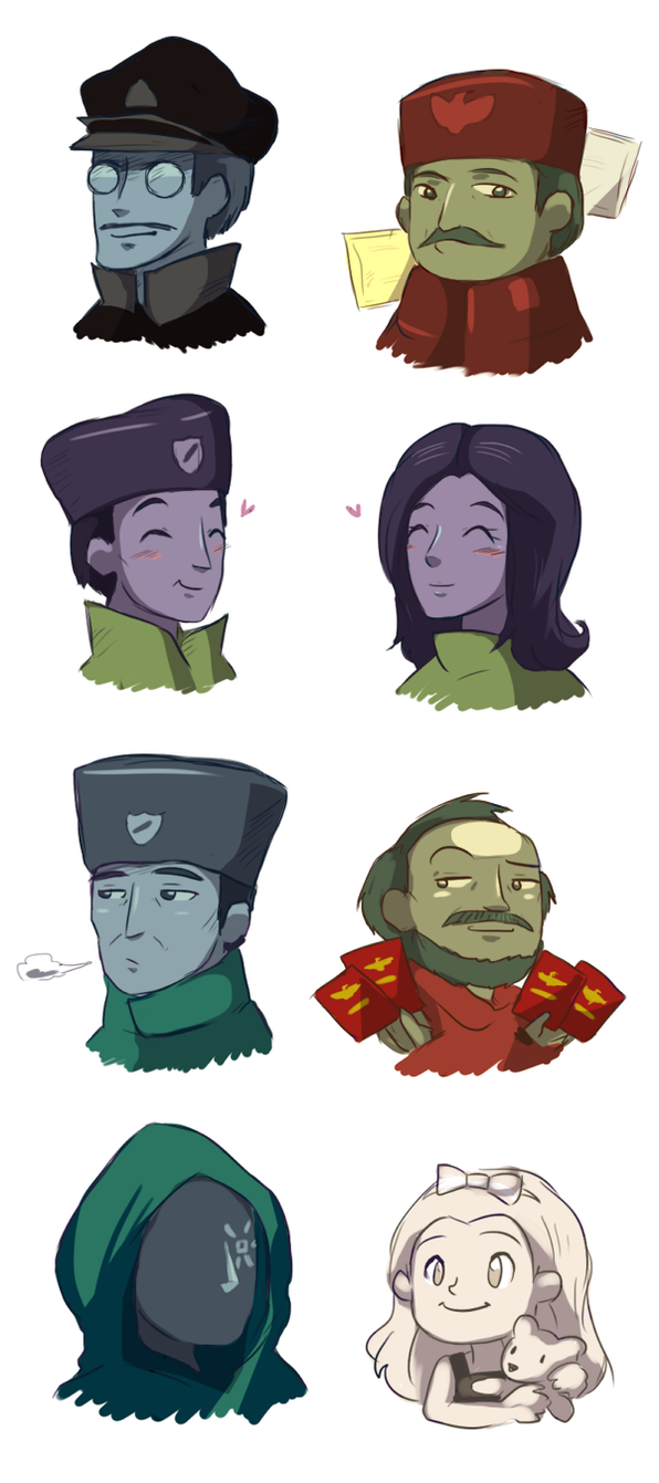 Papers, please by keterok on DeviantArt.