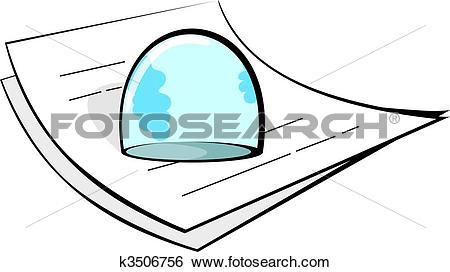 Stock Illustration of paperweight k3506756.